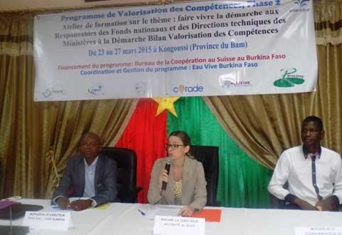 Valorisation des compétences: L'approche «DBVAC» enseignée aux responsables de fonds nationaux et directions techniques