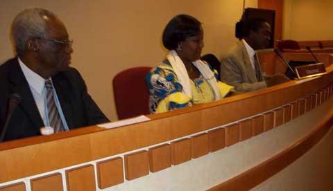 Participation du Burkina Faso à la 59ème session de la condition de la femme:  Des stratégies pour mettre fin aux grossesses non désirées dans le contexte de l'agenda de développement post-2015