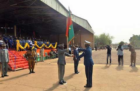 Armée de l'Air: Kounsaouma Palenfo, nouveau commandant à bord