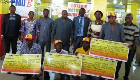 Pari Mutuel Urbain du Burkina: La LONAB a remis 93 464 500 francs CFA à quatre gagnants