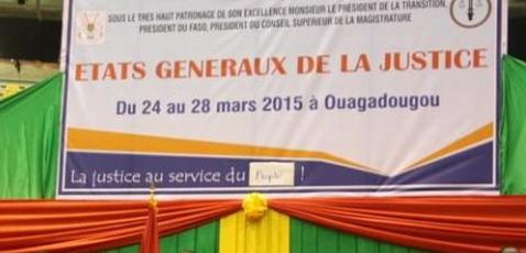 Etats généraux de la Justice: Le collectif CGTB se retire des travaux
