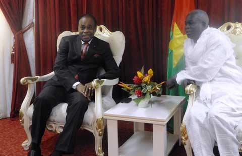 Conseil national de la transition: L'envoyé spécial de L'Union africaine s'imprègne de l'évolution des «événements»