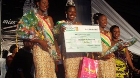 Miss Université 2015 : Josiane Ki a su « vendre » le Burkina