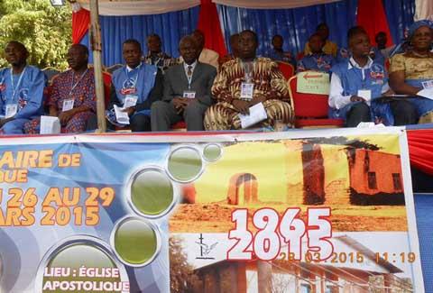 Eglise apostolique du Burkina: La fidélité à Dieu au centre du jubilé d'or