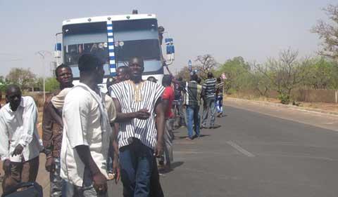 Transport au Burkina: Des chauffeurs et routiers en grève de 48 heures