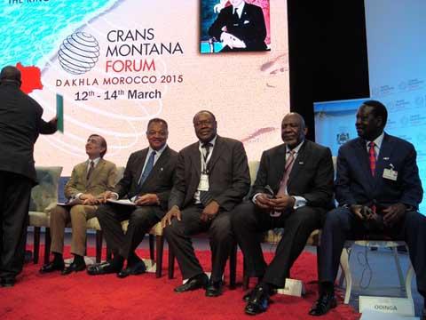 Forum de Crans Montana a Dakhla (Royaume du Maroc): Ablassé Ouédraogo fait le point de sa participation