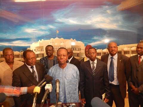 Processus de Transition: Les partis politiques font le point avec Michel Kafando