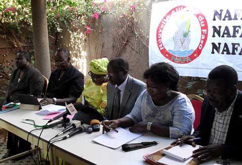 Révision du Code électoral: La NAFA dénonce des amendements discriminatoires et anti- constitutionnels
