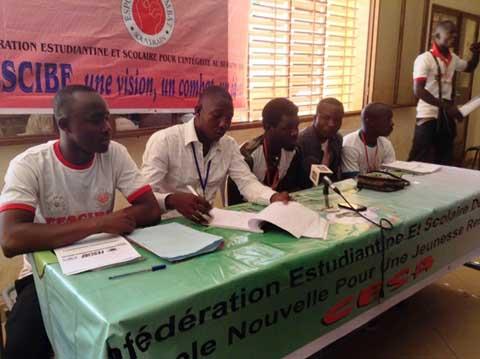 Université de Ouagadougou: La FESCIBF exige l'amélioration des conditions de vie des étudiants