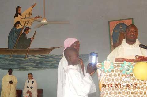Pâques à Dédougou: les fidèles invités à poursuivre les efforts de perfection entrepris pendant les 40 jours de carême