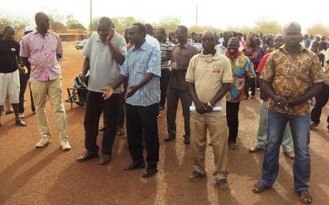 Marche-Meeting CCVC/Nord: Les travailleurs du Yatenga exigent du gouvernement des actes concrets