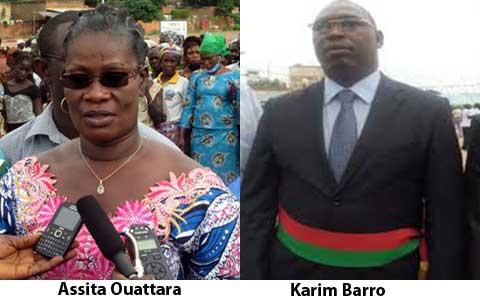 Bobo: Assita Ouattara et Karim Barro sont aux arrêts