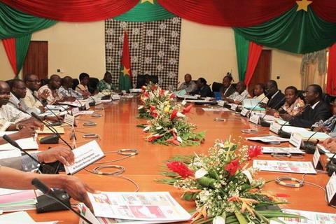 Rencontre syndicat gouvernement au burkina
