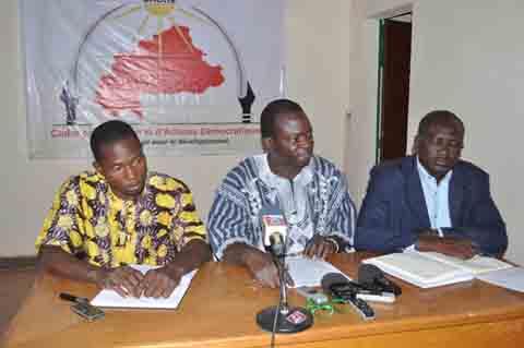 Burkina post-Transition: Le CADRe lance la réflexion pour une nouvelle classe politique