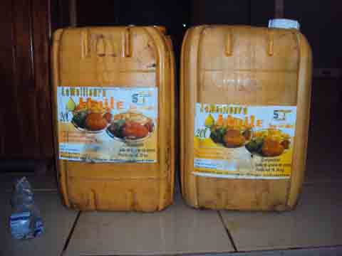 Vente illicite d'huile de cuisine à Ouahigouya:  3 mois de prison ferme pour des commerçants