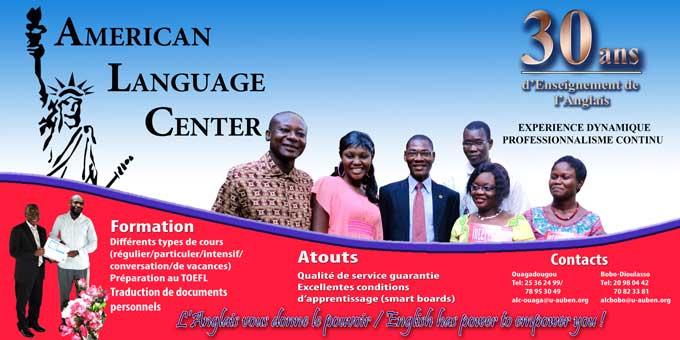 American Language  Center:  30 ans d'enseignement de l'Anglais