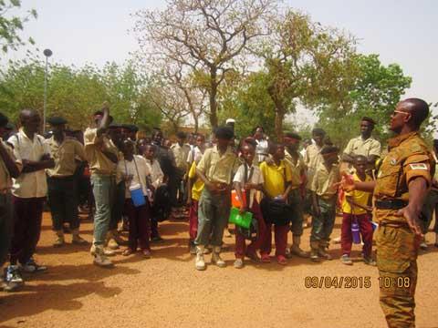 Prytanée militaire de Kadiogo: S'ouvrir aux plus petits pour susciter des vocations