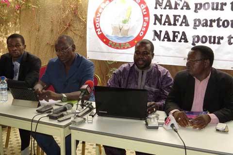 Modification du Code électoral: «L'inéligibilité évoquée ne concerne ni de près ni de loin, les militants du parti, encore moins Djibrill Y. Bassolé», dit le 2e vice-président de la NAFA