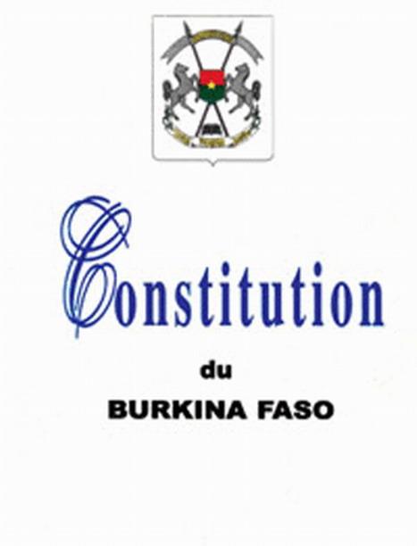Réformes constitutionnelles au Burkina: Il nous faut une constituante après la présidentielle