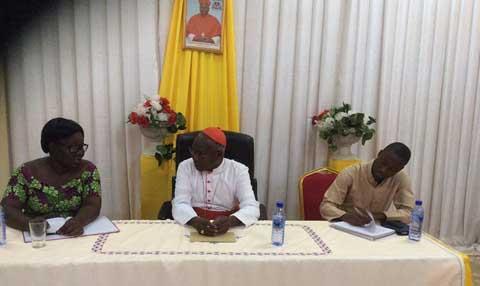 Transition: La sous-commission vérité, justice et réconciliation a reçu les conseils du Cardinal Philipe Ouédraogo
