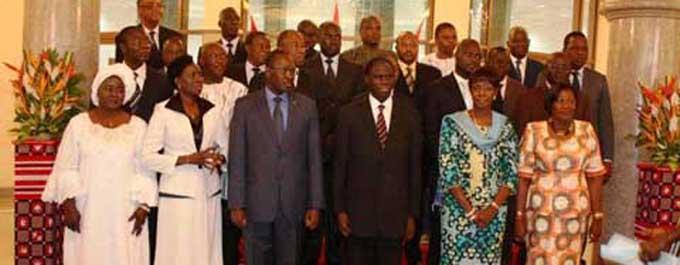 Déclaration sur l'honneur de la liste des biens des membres du Gouvernement et du Secrétaire Général du Gouvernement et du Conseil des Ministres (4/5)