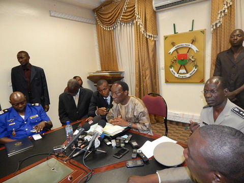 Arrestations de personnalités, nouveau code électoral, insécurité: Le ministre de la sécurité, Auguste D Barry, explique