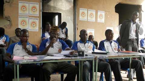 Hauts-Bassins: Pour le renouveau du CDP, Abou Téguéra et ses camarades sont sur le terrain
