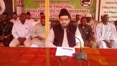 Conférence régionale de la Jama'At islamique Ahmadiyya: Comprendre l'islam, religion de paix!