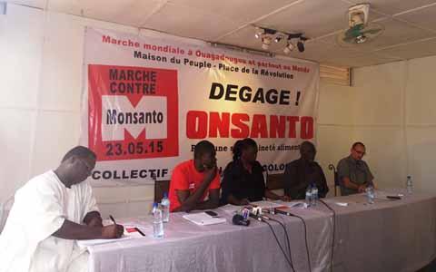 Marche contre Monsanto: le 23 mai, les Burkinabè diront «Non» aux OGM