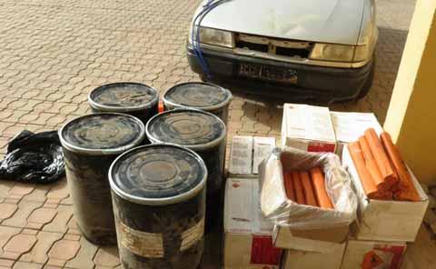 Affaire des explosifs à Pô: Le  véhicule retrouvé avec une partie de la cargaison, quatre personnes interpellées