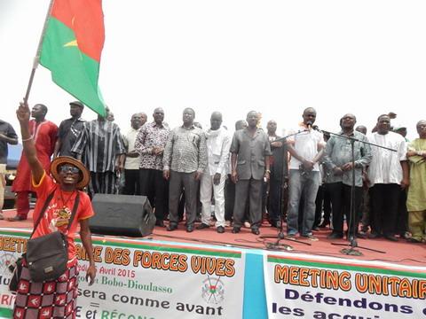 Soutien à la Transition: Les «Forces vives» mobilisent «leurs troupes» à Ouaga