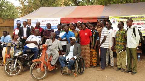 La NAFA crée l'Union nationale des personnes handicapées
