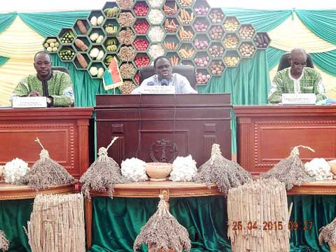 Michel Kafando face aux paysans: les agriculteurs réclament la création d'une banque agricole, un statut et un prix minimum garanti d'achat des céréales