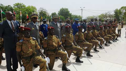 Académie militaire Georges Namoano: 30 officiers issus des rangs prêts à «persévérer»