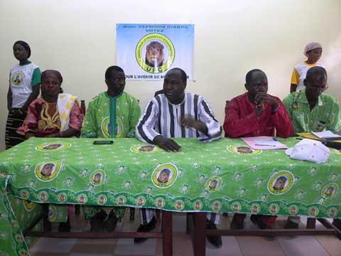 L'UPC dans le Sourou: Zéphirin Diabré met en garde les «fraudeurs, apprentis diplômés de l'université Tuk-guili de Ouagadougou»