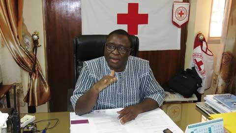 152e Journée mondiale de la Croix-Rouge: «Notre credo est la mobilisation du pouvoir de l'humanité», dixit Lazare Zoungrana.