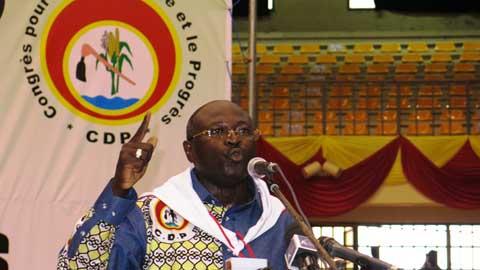 VIe Congrès du CDP: Eddie Komboïgo élu Président du Bureau exécutif national