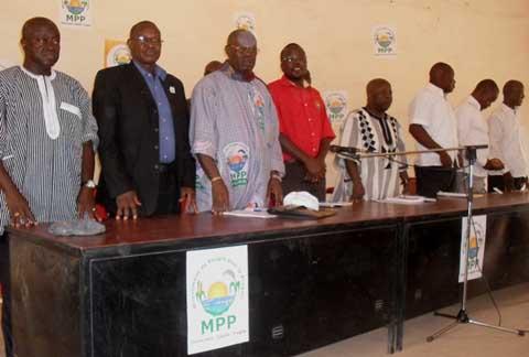 MPP Réo: Mobilisation générale en vue de la présidentielle d'octobre