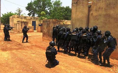 Lutte contre le terrorisme et le grand banditisme: L'USIGN s'entraine et monte en puissance