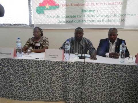 Bobo-Dioulasso: Les députés des OSC réfléchissent sur leur apport à l'ancrage du processus démocratique burkinabè