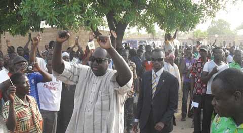 UPC à Saonré: Zéphirin Diabré promet d'y revenir en hélicoptère si…