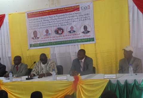 Université Ouaga II: La promotion «Laurent Bado» prête pour emploi
