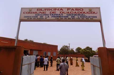 Garderies populaires publiques de Ouagadougou: Des parents d'enfants ont manifesté ce lundi matin