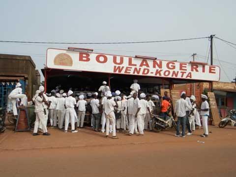 Boulangerie Wend Konta: Les ouvriers en grève pour une augmentation de salaires