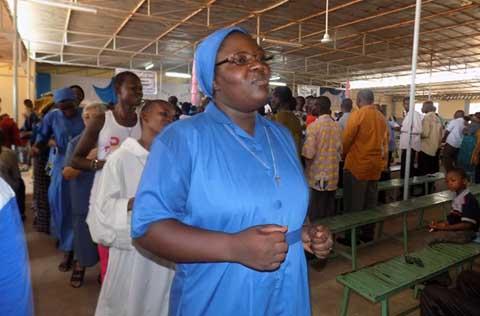 Vœux perpétuels: Sœur Gisèle Kanzame s'engage à servir Dieu