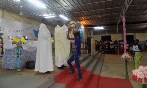 Examens et concours session 2015: Une messe à l'honneur des élèves et étudiants