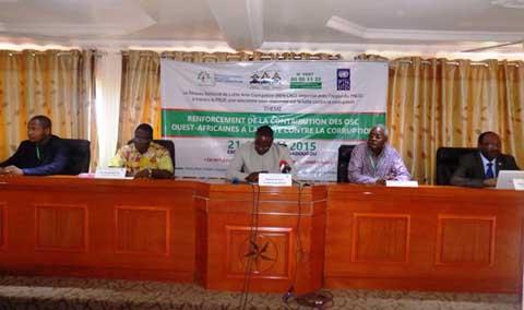 Lutte contre la corruption: Des acteurs de l'Afrique de l'Ouest en conclave à Ouagadougou