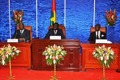 Situation politique: Michel Kafando rassure les ambassadeurs et les représentants des organisations internationales