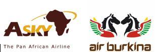 Trafic aérien: ASKY et Air Burkina unissent leurs forces pour satisfaire la clientèle
