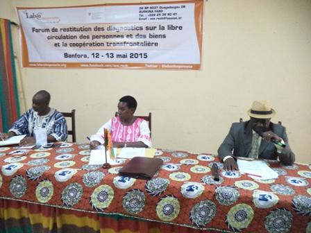 Libre circulation des personnes et des biens: Le Laboratoire Citoyennetés outille les acteurs de Banfora